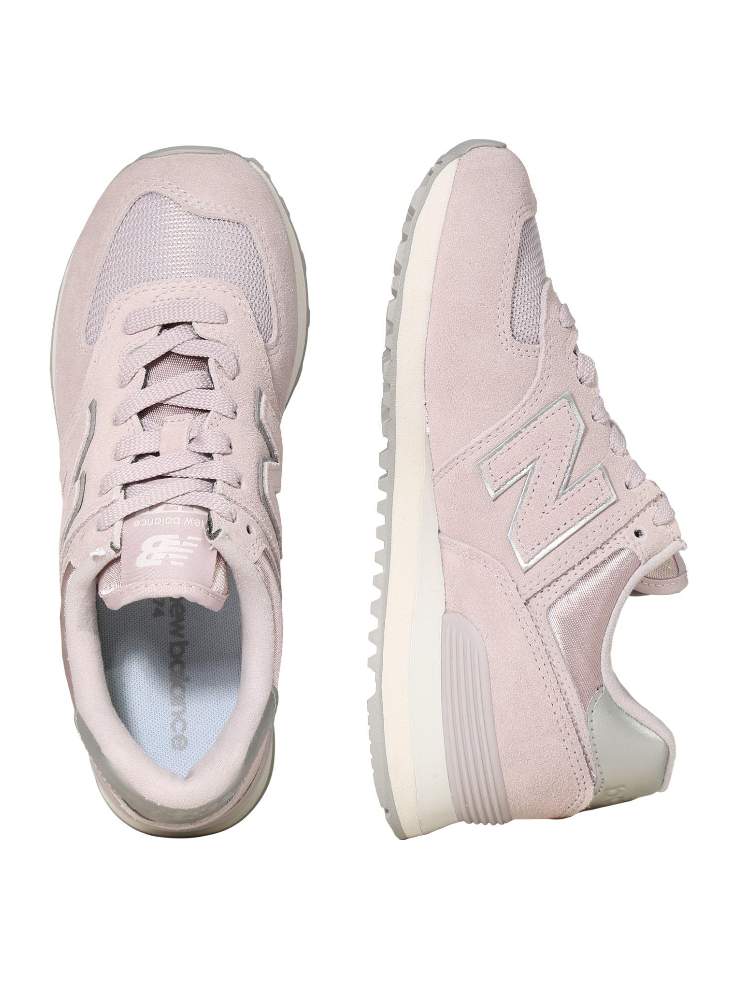 New Balance Sneaker 'WL574' Herren, Beige / Hellgrau / Pink ...