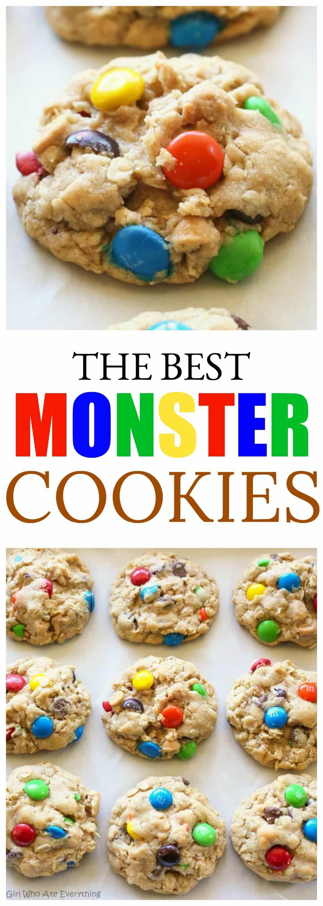 Monster Cookies Recipe Cookie Recipes The Best Monster Cookie