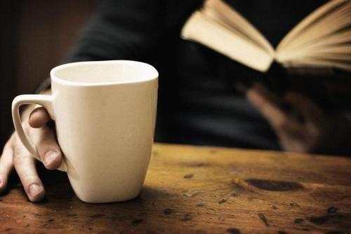 Coffee & book = heaven