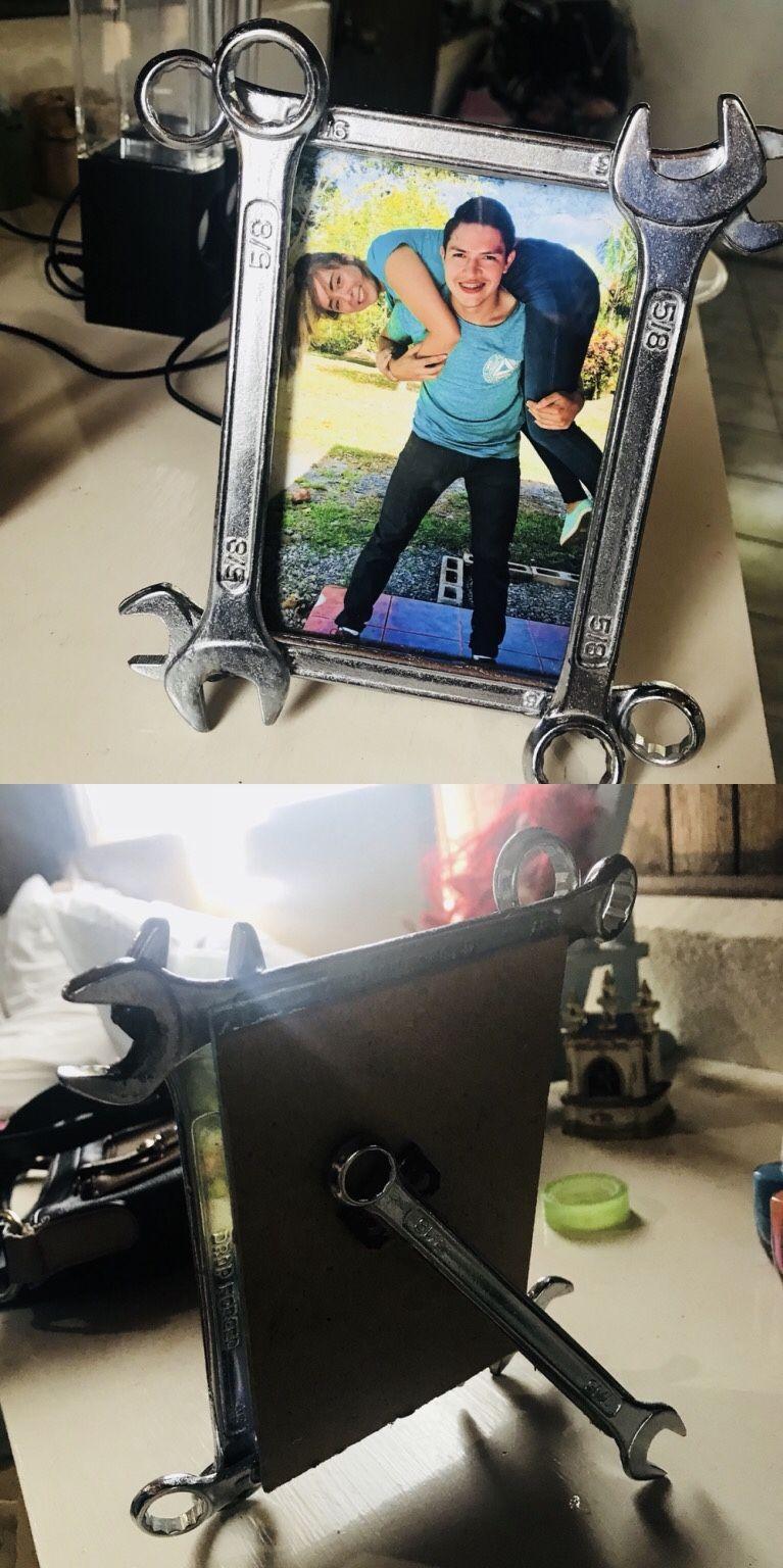 Mechanic Picture Frame Boyfriend Gift Diy Mechanicboyfriend Love Unique Present Diygift Manlygiftdiy