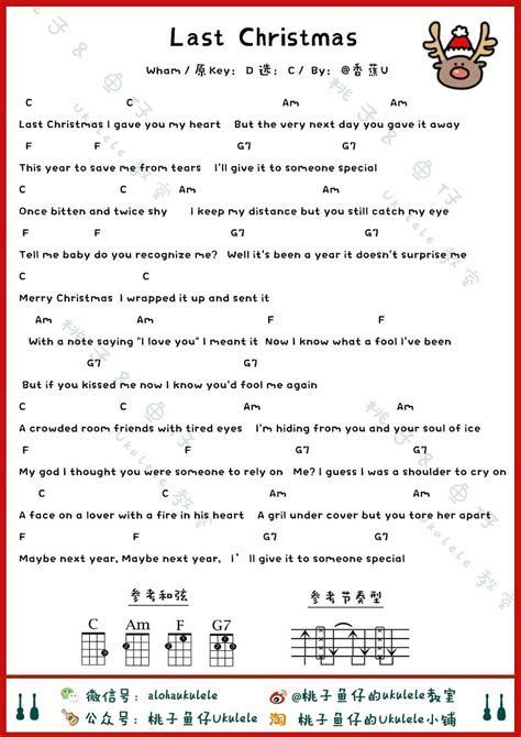 Afbeeldingsresultaten Voor Last Christmas Chords Ukelel Ukulele Songs Ukulele Ukulele Akkorde