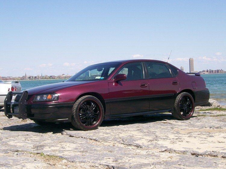 Maroon n Black  Chevy Impala  Pinterest  Impalas Chevy impala
