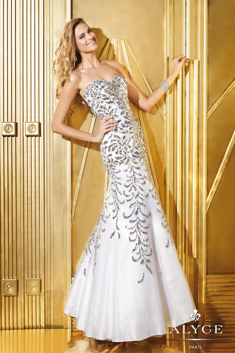 Alyce Prom 6287 Alyce Paris Prom PZAZ DRESSES,THE BEST DRESS STORE ...