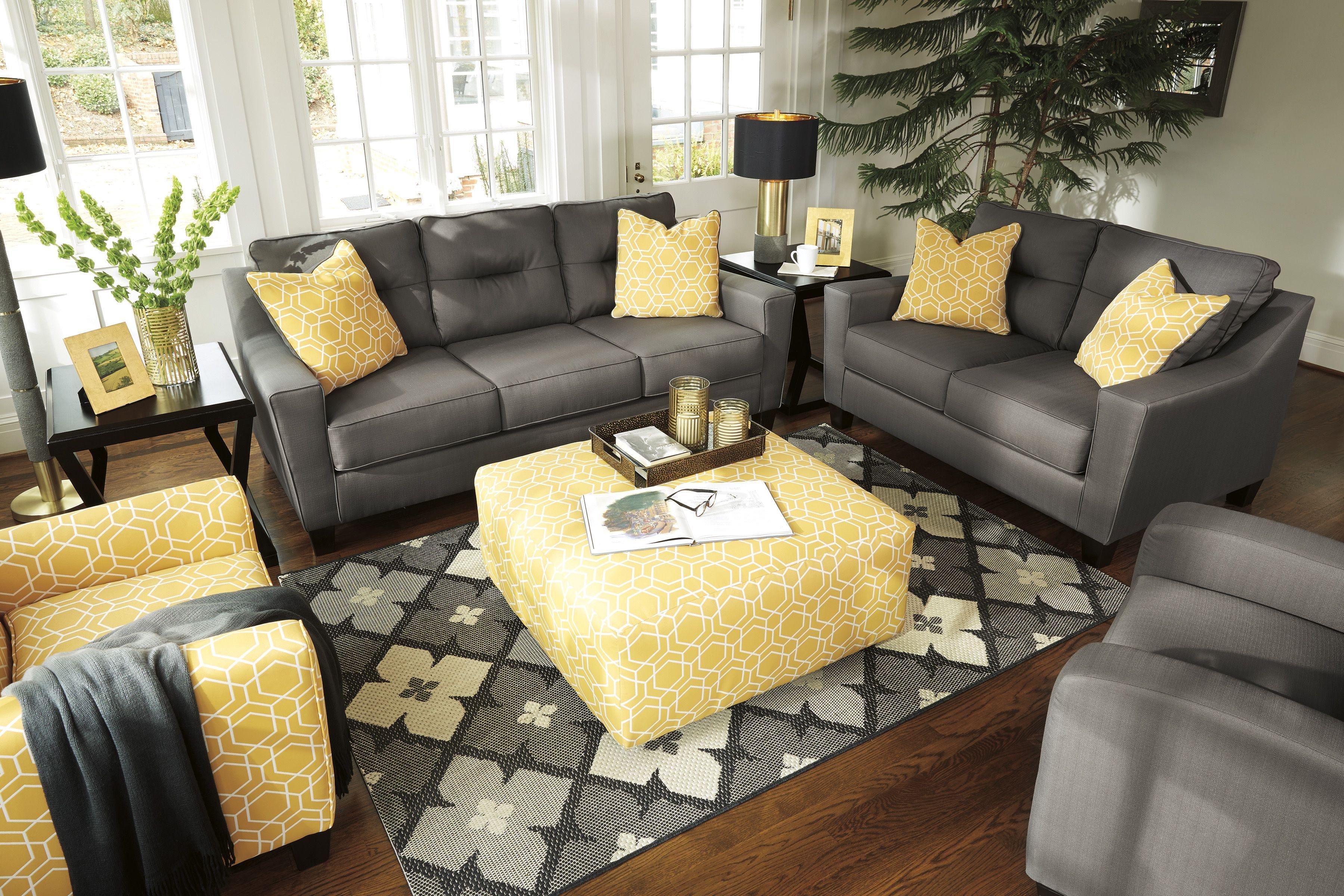 Ashley Forsan Modern Living Room Furniture Inspiration With