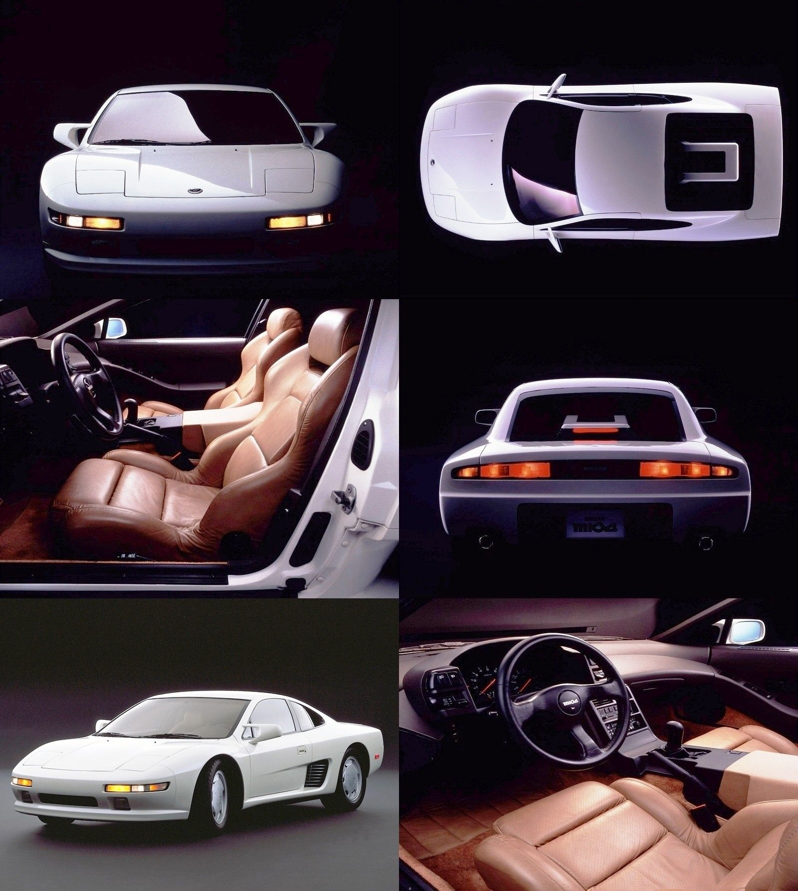 Nissan DOME Zero P1 And P2 And 1987