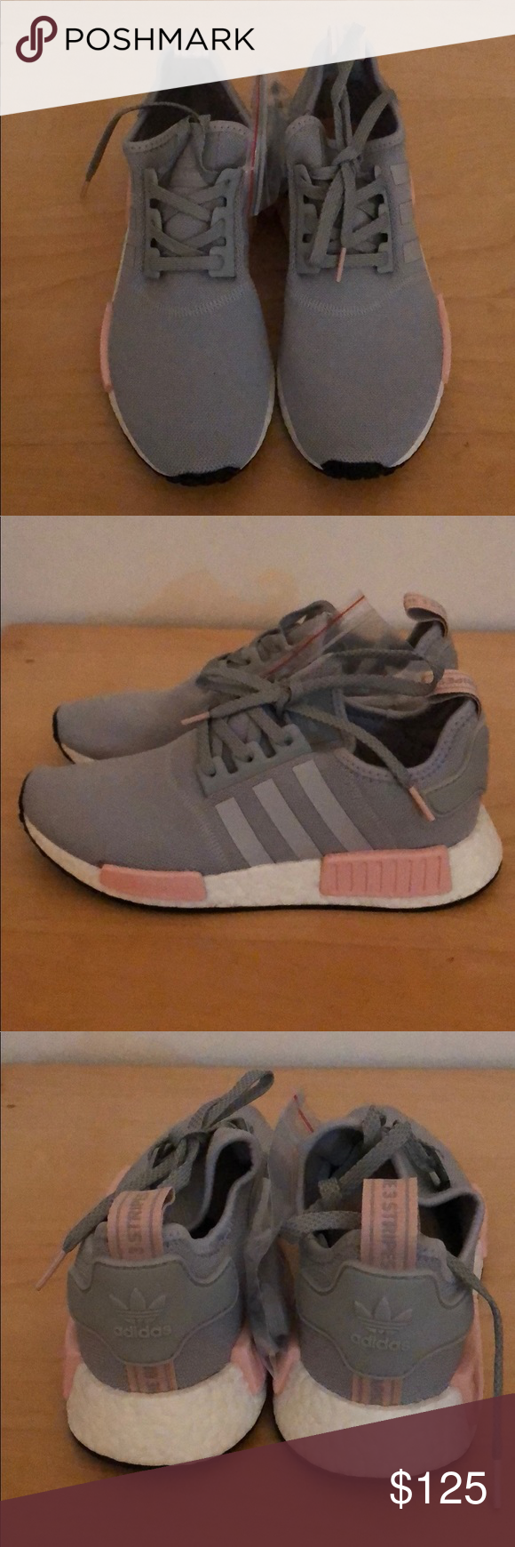nmd r1 womens grey and pink