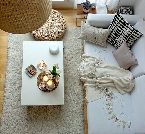 Efter Stormen : 10 Scandinavian living rooms | 10 Salones de estilo escandinavo
