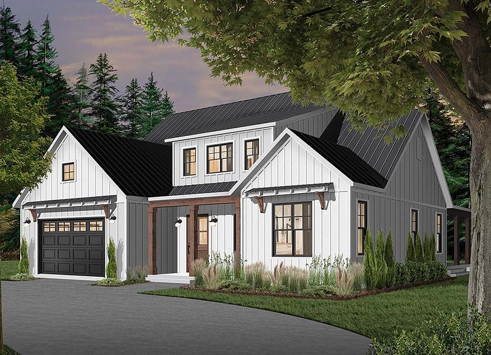 Ranch Style House Plan 76521 With 4 Bed 4 Bath 3 Car Garage Modern Farmhouse Plans Ranch Style House Plans Farmhouse Style House Plans
