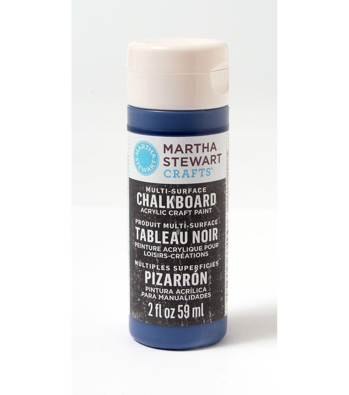 Martha Stewart Crafts  2oz Multi - Surface Chalkboard Acrylic Craft Paint - Ink