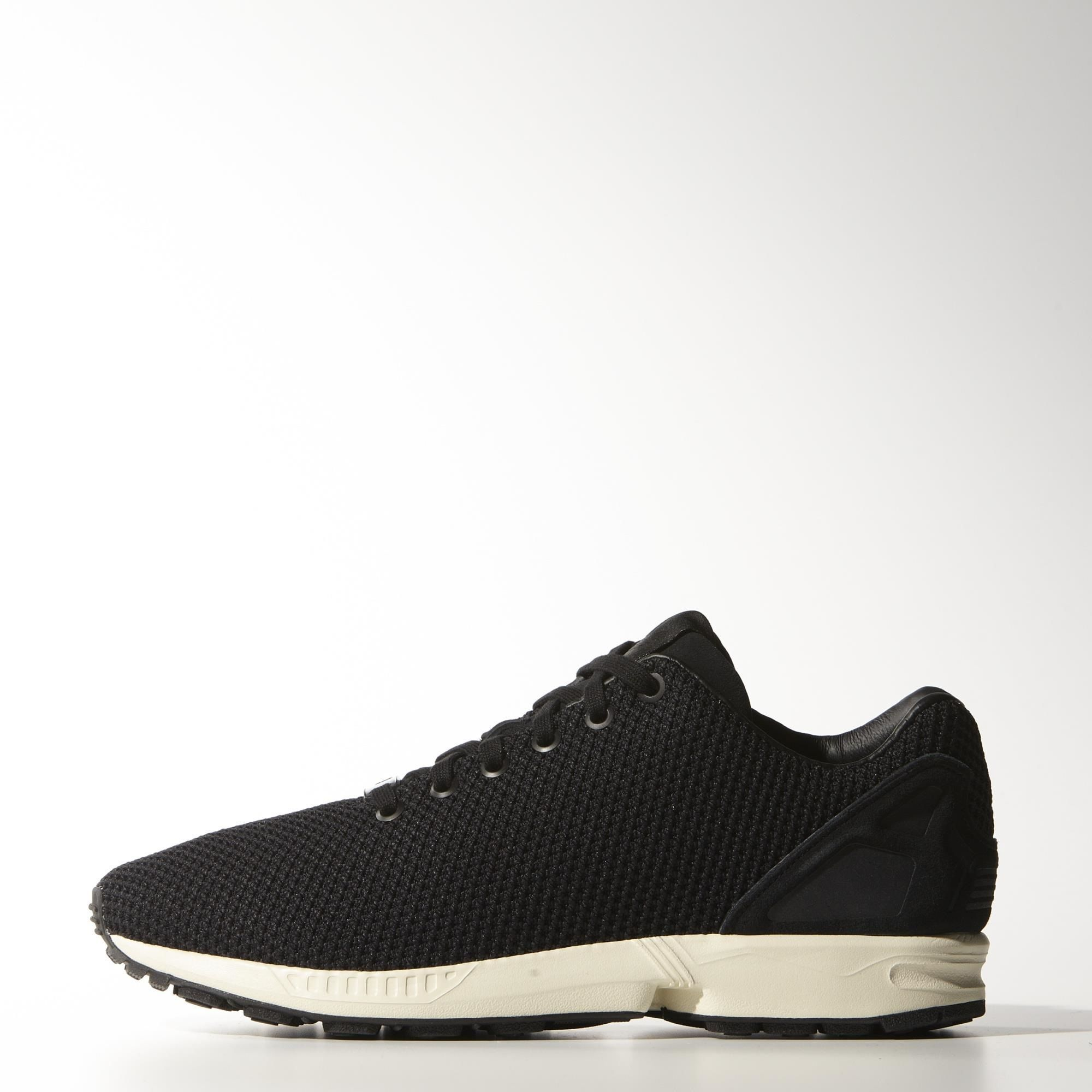 adidas zx flux triple black mens nz