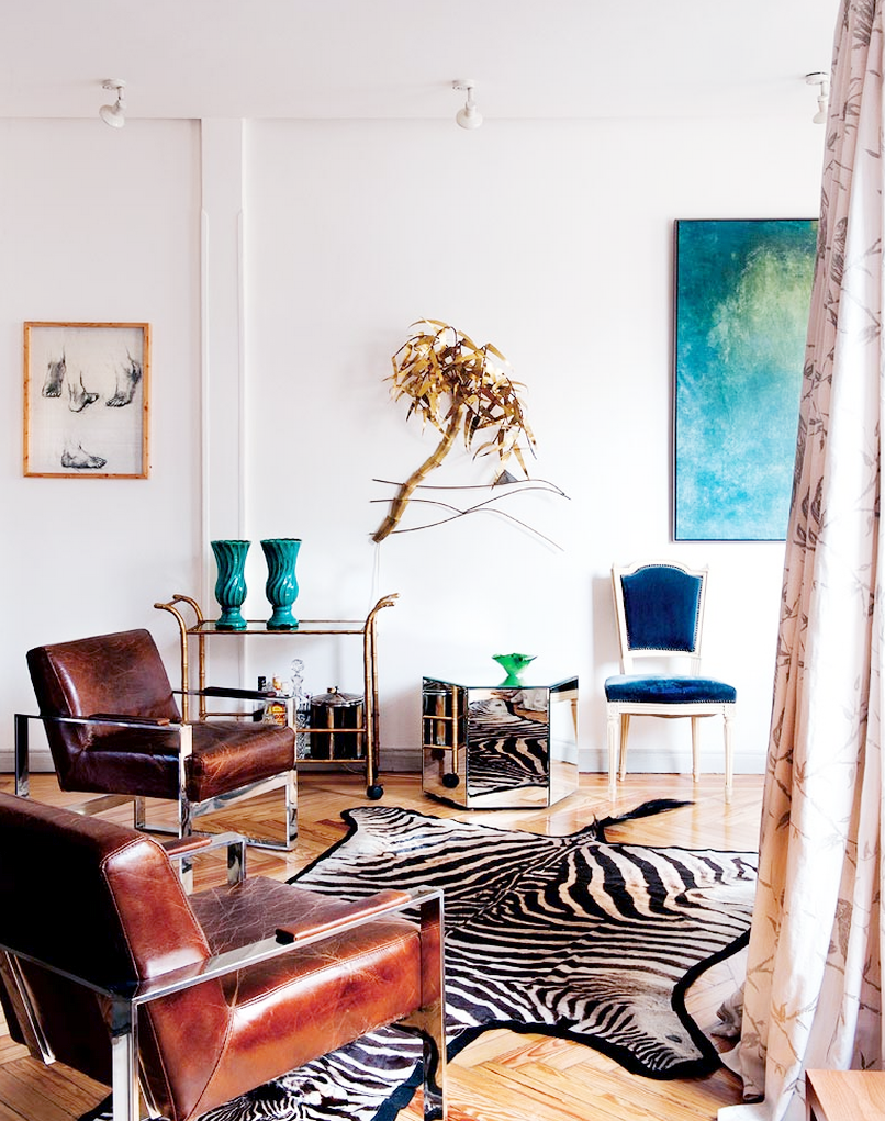 Tour a Fashion Designer\'s Feminine Spanish Abode   Designers, Living ...