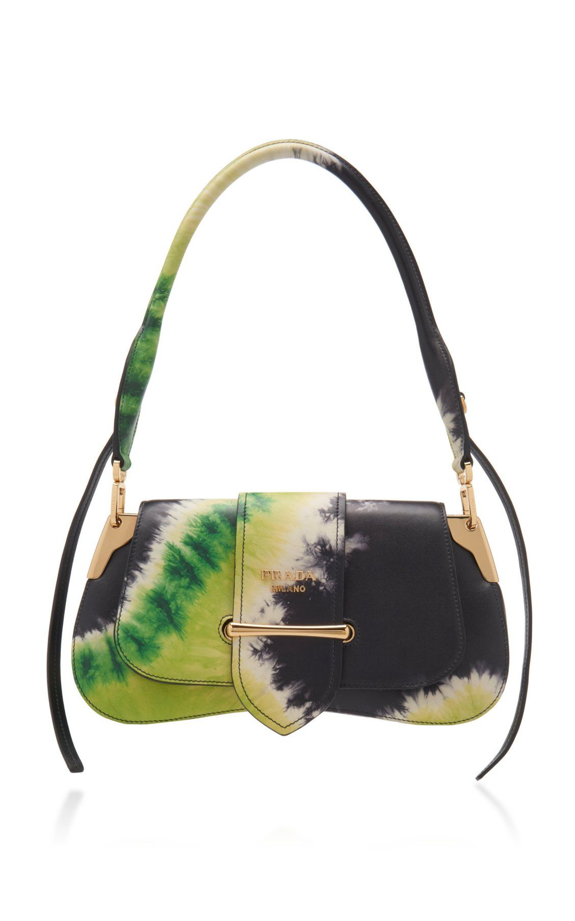 b6926c135cc522 Tie-Dye City Calf Pattina Bag by Prada Spring/Summer 2019 | Moda Operandi