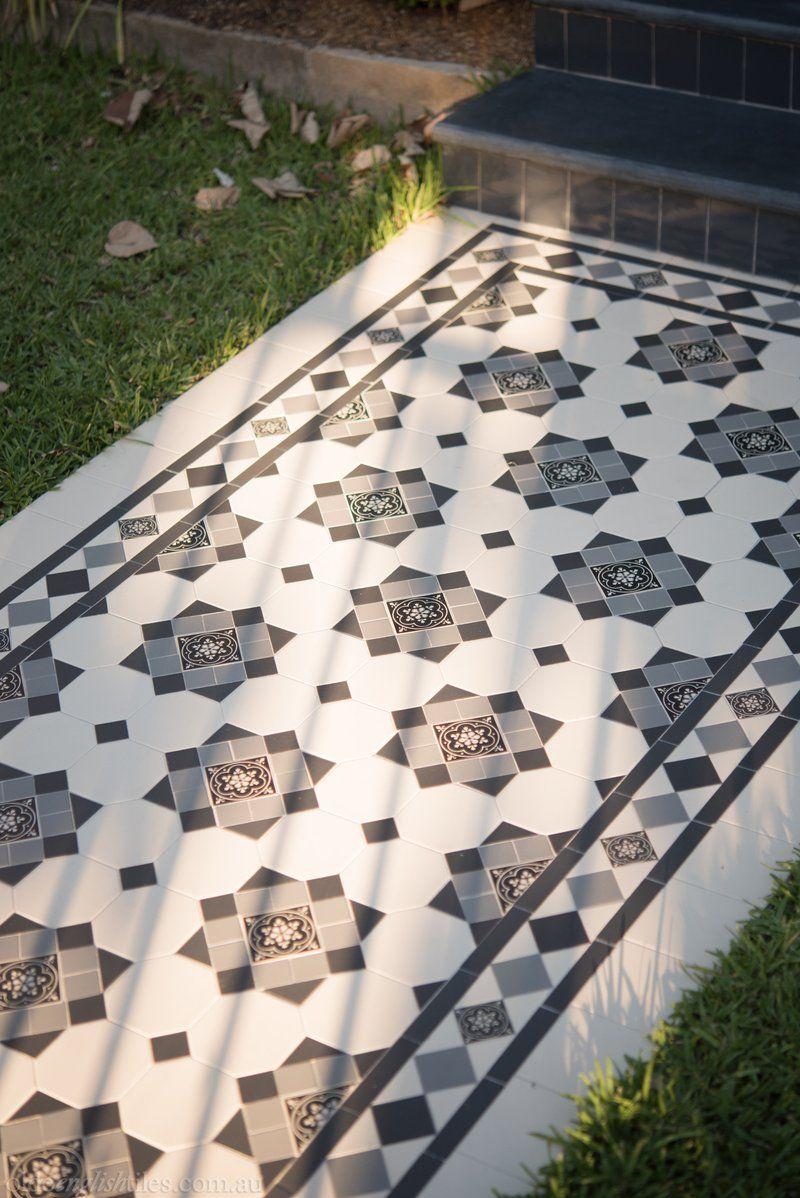 Verandah Heritage Tessellated Tiles Olde English Tiles