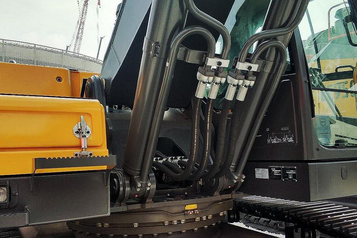 High Pressure Tube Fittings In Komatsu Excavator High Pressure Tube Stainless Steel Fittings