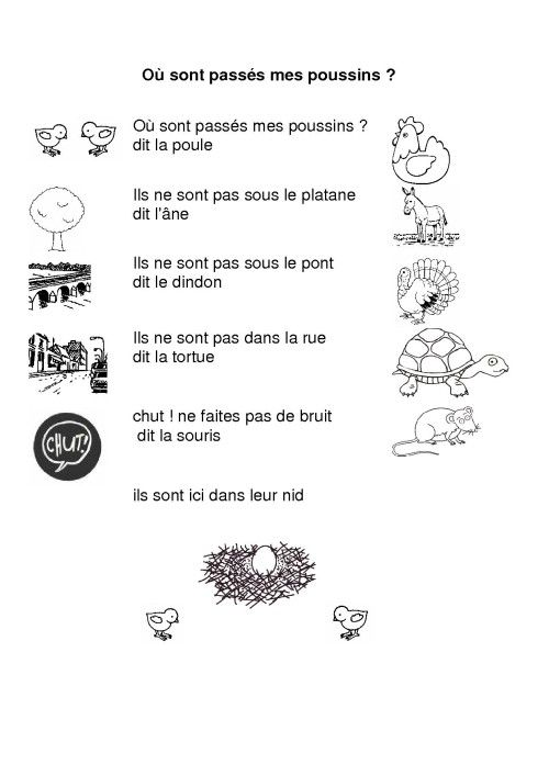Poule Ecole Poesie Easter Crafts Easter Et Teaching French