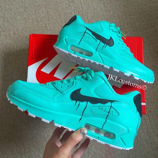 Tiffany Melts Nike Air Max Gift Box Blue Air Max 90 ($212