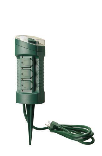 Smart Electrician Yard Master Outdoor 6, Outdoor Timer For Lights Menards