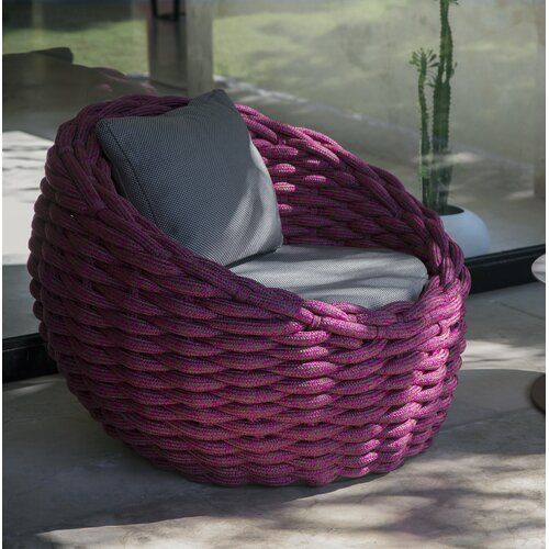 circle puff patio chair in 2021 patio