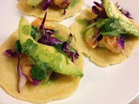 From Pasta to Paleo: Paleo Shrimp Tacos with Cilantro Lime Sauce
