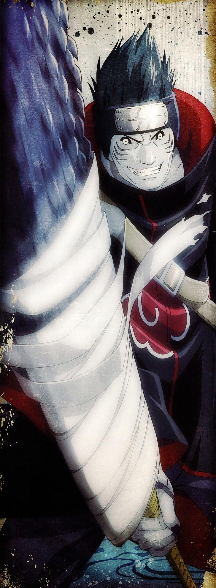 Kisame of Akatsuki digital wallpaper, Naruto Shippuuden