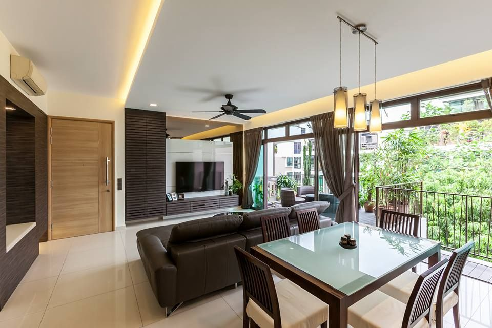 The varsity park west coast modern condominium interior for Balcony interior design