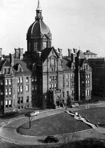 Photo By A Aubrey Bodine Johns Hopkins Hospital 1937 Baltimore Md Historic Baltimore Baltimore City Baltimore Maryland