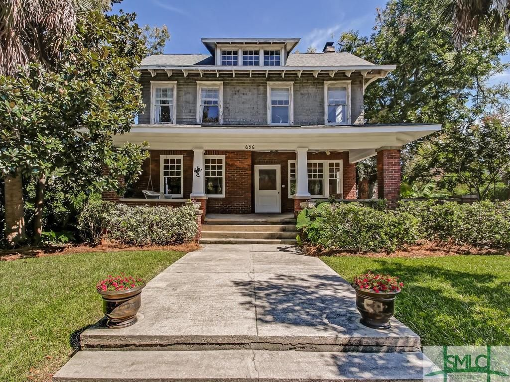 House With Side Yard Pool 636 E 41st St Savannah Real Estate Savannah Chat Home Inspector