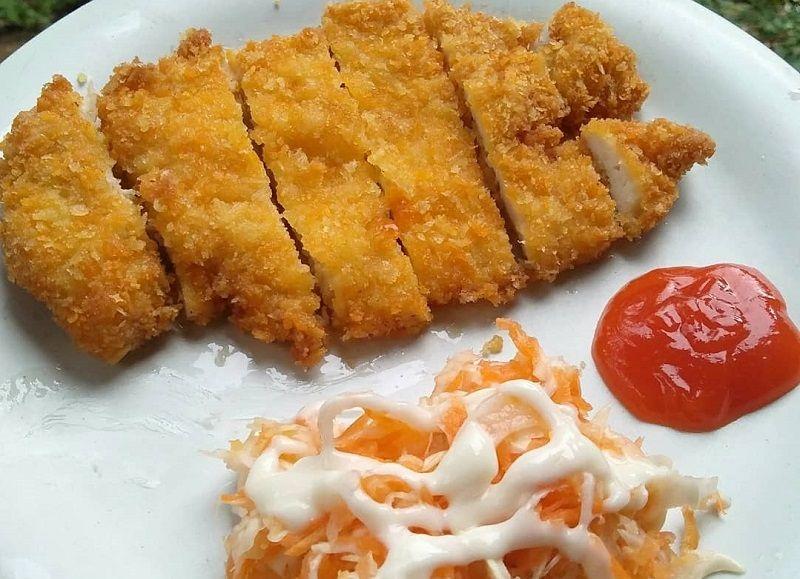 Resep Chicken Katsu Simple 5 Langkah Aja Makanan Memasak Resep