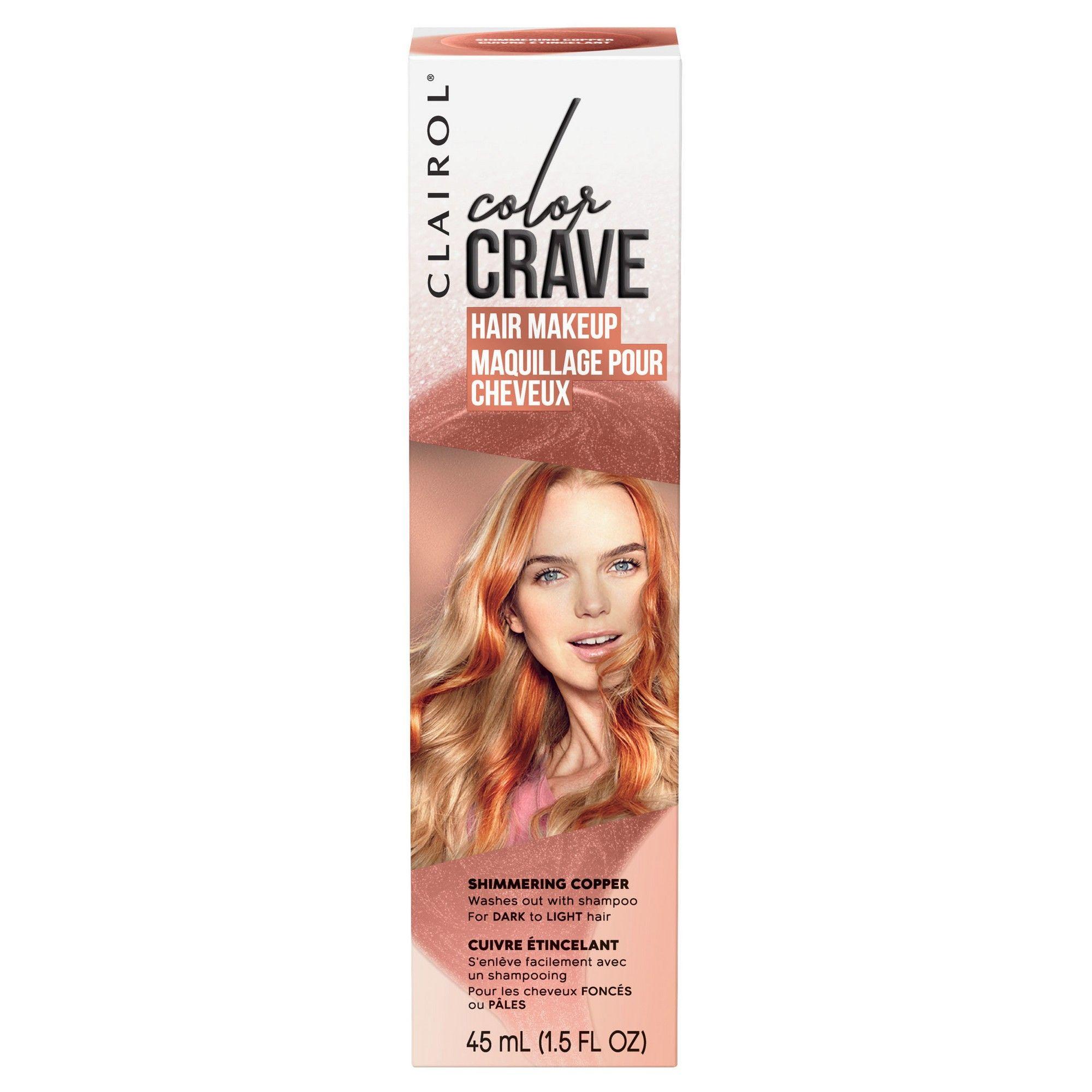 Clairol Color Crave Hair Makeup Copper (Brown) 1.52 fl oz