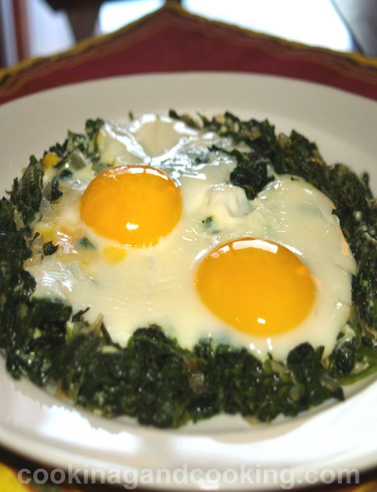 Egg and Spinach Recipe