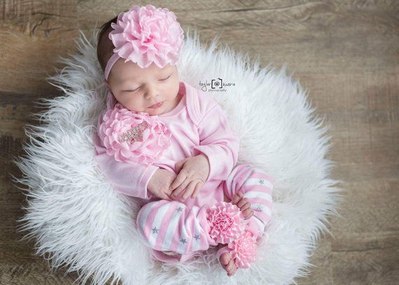 BOUTIQUE STYLE-Take Me Home-New Baby Hospital Outfit-Newborn Photos-Baby  Girl Outfit-Newborn Girl Ou 751789c1f