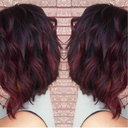 Photo of 25+ cabello rojo ombre rojo burdeos