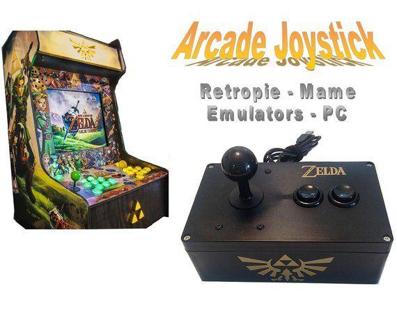 Retropie Arcade Joystick - USB, Raspberry pi, MAME, PC