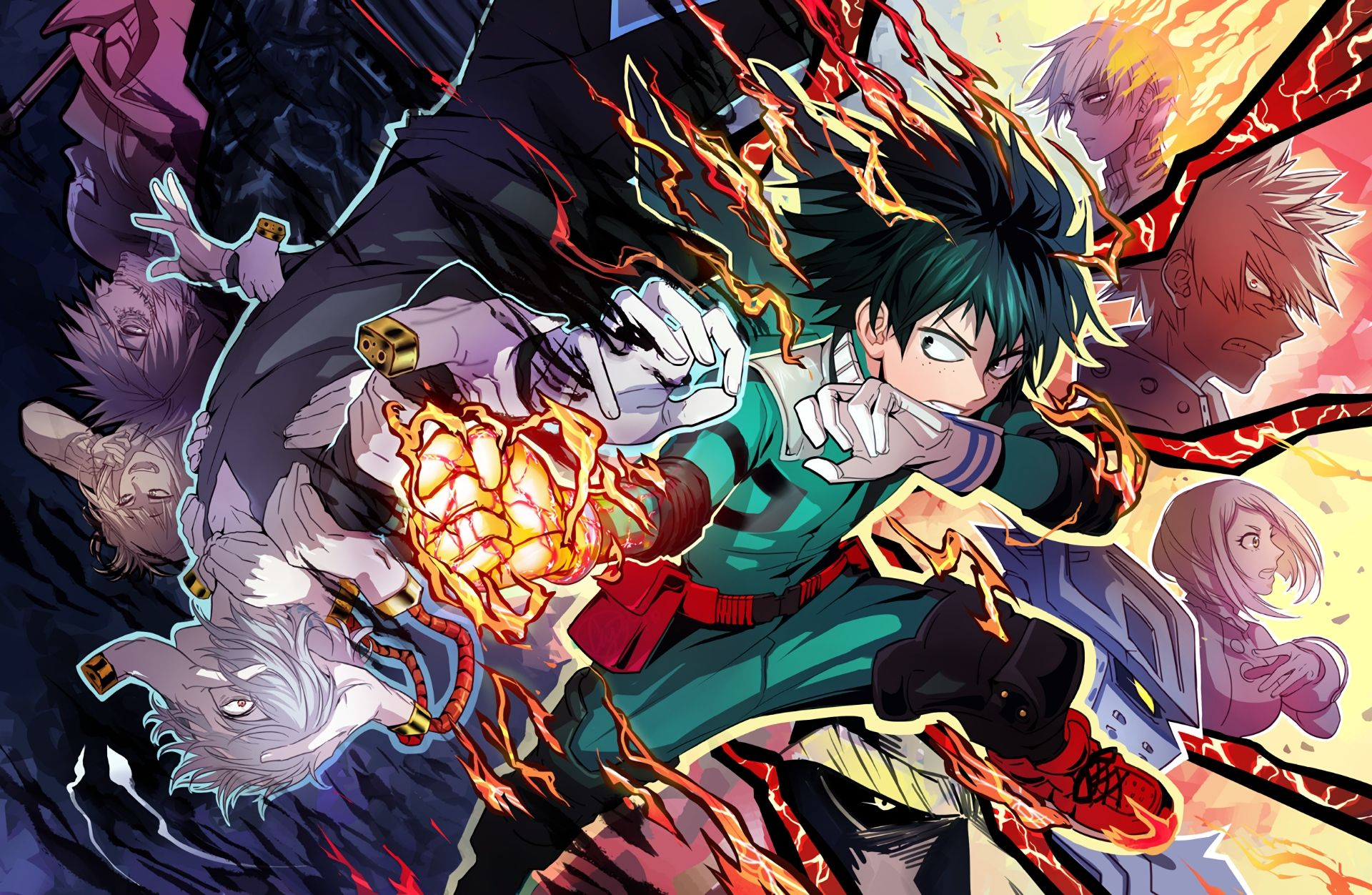 10 New My Hero Academia Desktop Wallpaper Full Hd 1080p For Pc Background Hero Wallpaper Anime Wallpaper Hero