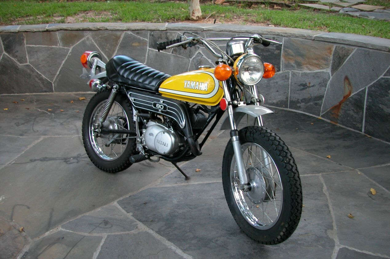 Yamaha Gt80 80cc This Is A Follow Up Reiteration Of The Original And Highly Successful Yamaha Mini Enduro Jt Yamaha Motorcycles Enduro Motorcycle Yamaha Bikes