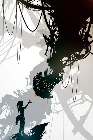 Portal Chell And Glados Iphone 4s Wallpaper Portal Game Game Art Game Artwork