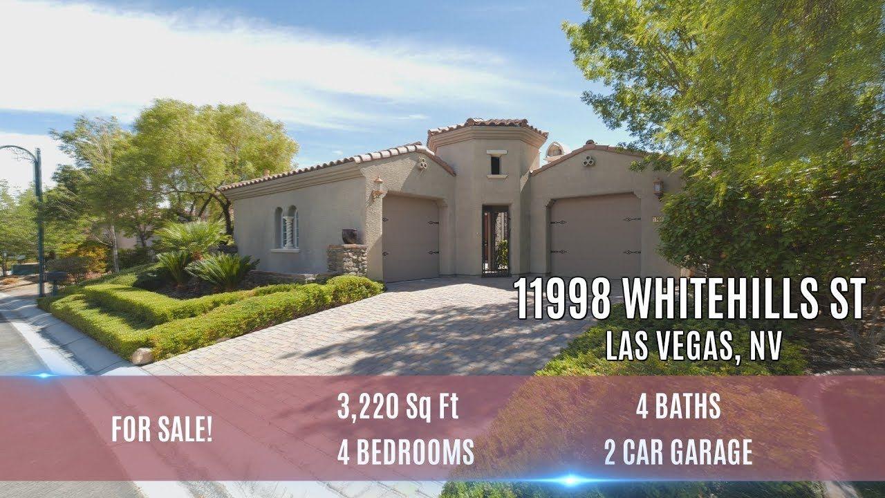 11998 Whitehills St, Southern Highlands, Las Vegas, NV