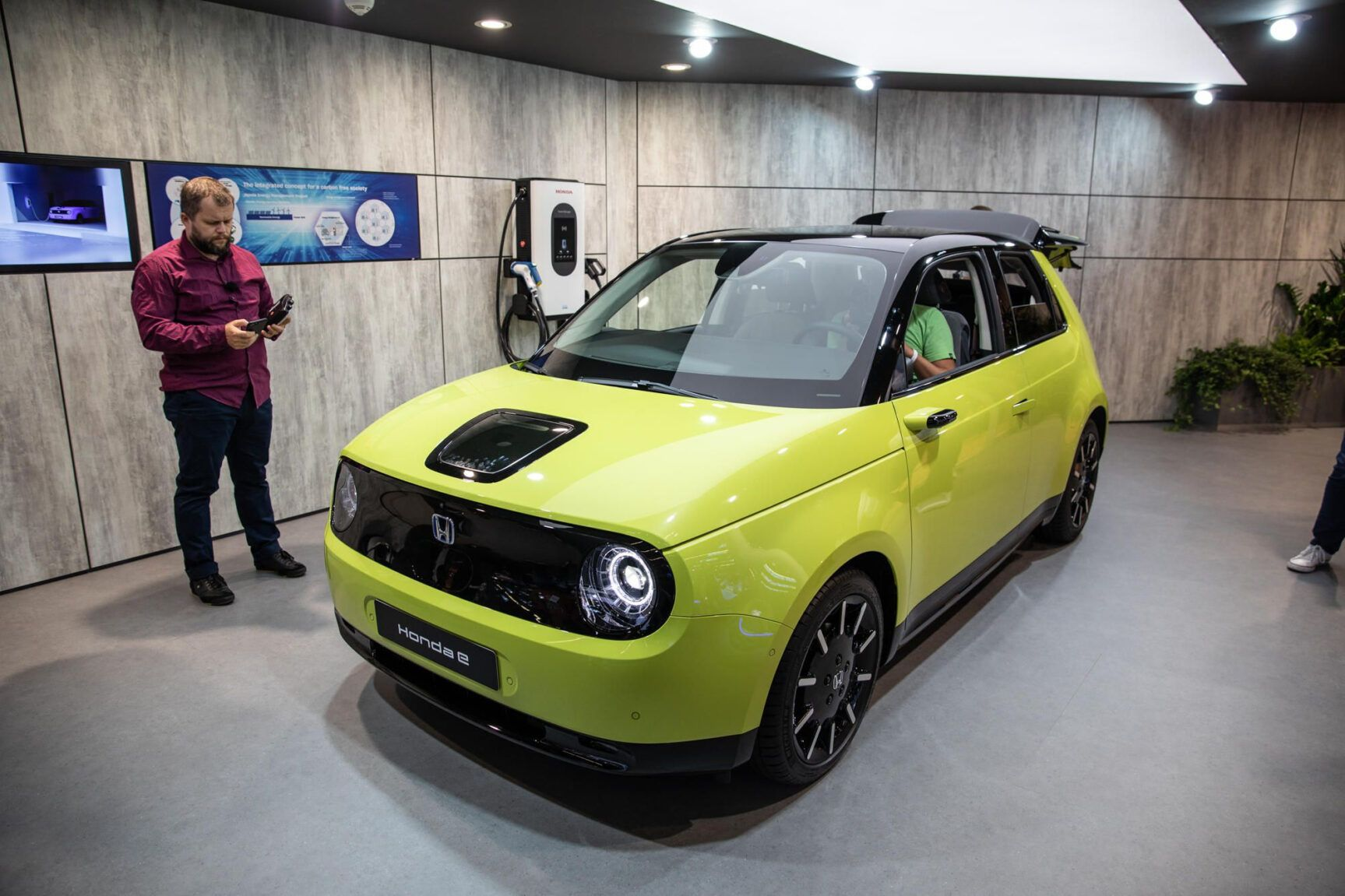 Honda E Is The First Production Battery Electric Vehicle Introduced By Honda In Europe And Is The Next Action Towards The Brand Name S Electric Vision For 100