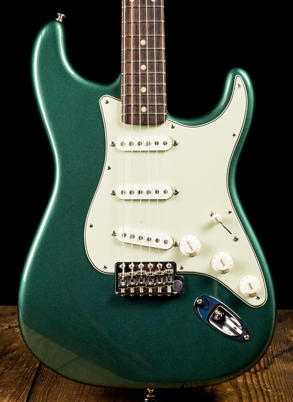 Fender American Vintage 59 Stratocaster Sherwood Green Metallic Fender American Vintage American Vintage Fender