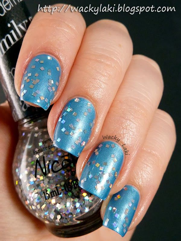 Nicole By Opi Spark The Conversation Over Late Blu Mer Nicole By Opi Winter Nails Nail Polish