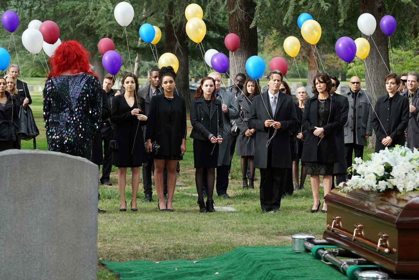 Leo's funeral :'(  Chasing Life