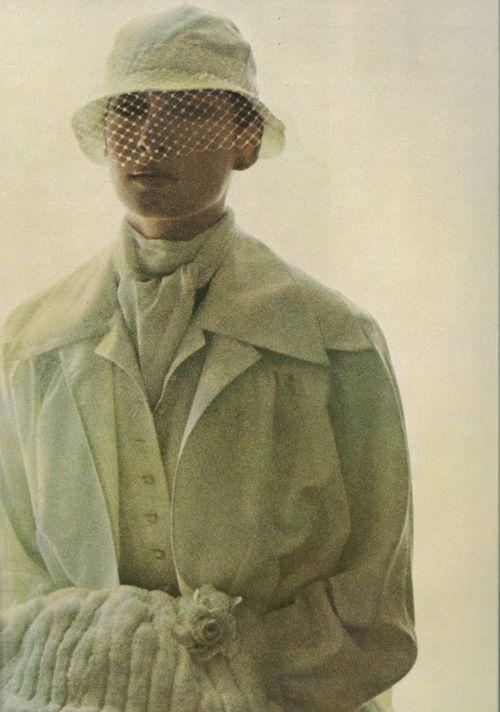 Anjelica Huston - Vogue UK by David Bailey, November 1973