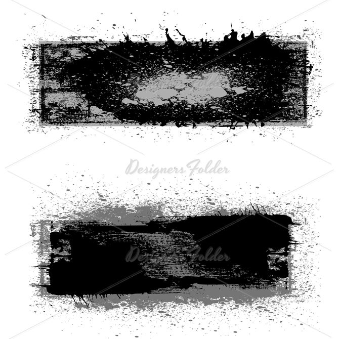 grunge dirty banner vectors | designersfolder | pinterest | banner