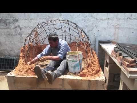 Horno de barro artesanal paso por paso youtube planos - Hornos a lena construccion ...