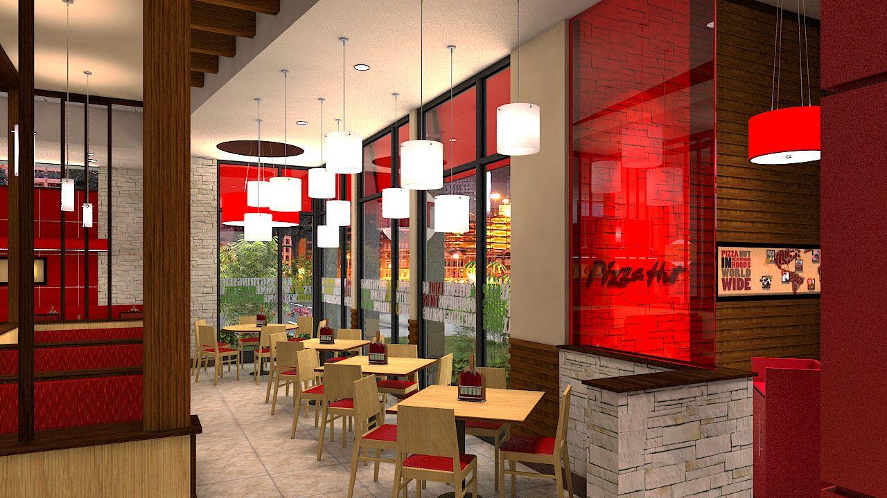Pizza hut interior strip mall ideas pinterest