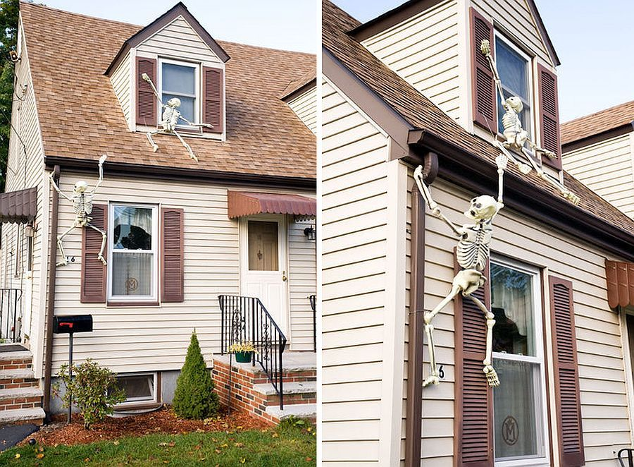 10 DIY Haunted House Ideas to Dress Your Home Up for Halloween - halloween haunted house ideas