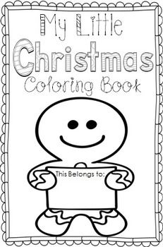 My Little Christmas Coloring Book Christmas Coloring Books Christmas Colors Diy Coloring Books
