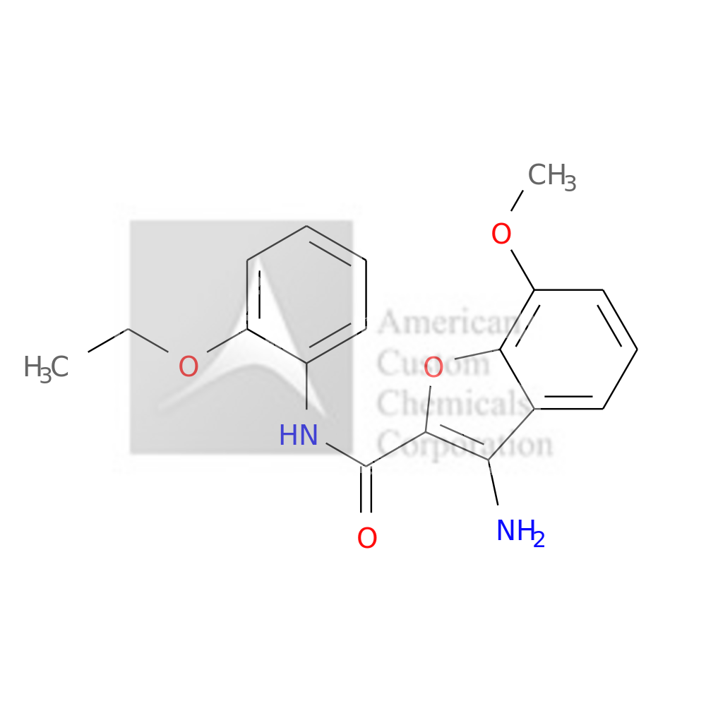 3-amino-N-(2-ethoxyphenyl)-7-methoxy-1-benzofuran-2-carboxamide is now  available at ACC Corporation