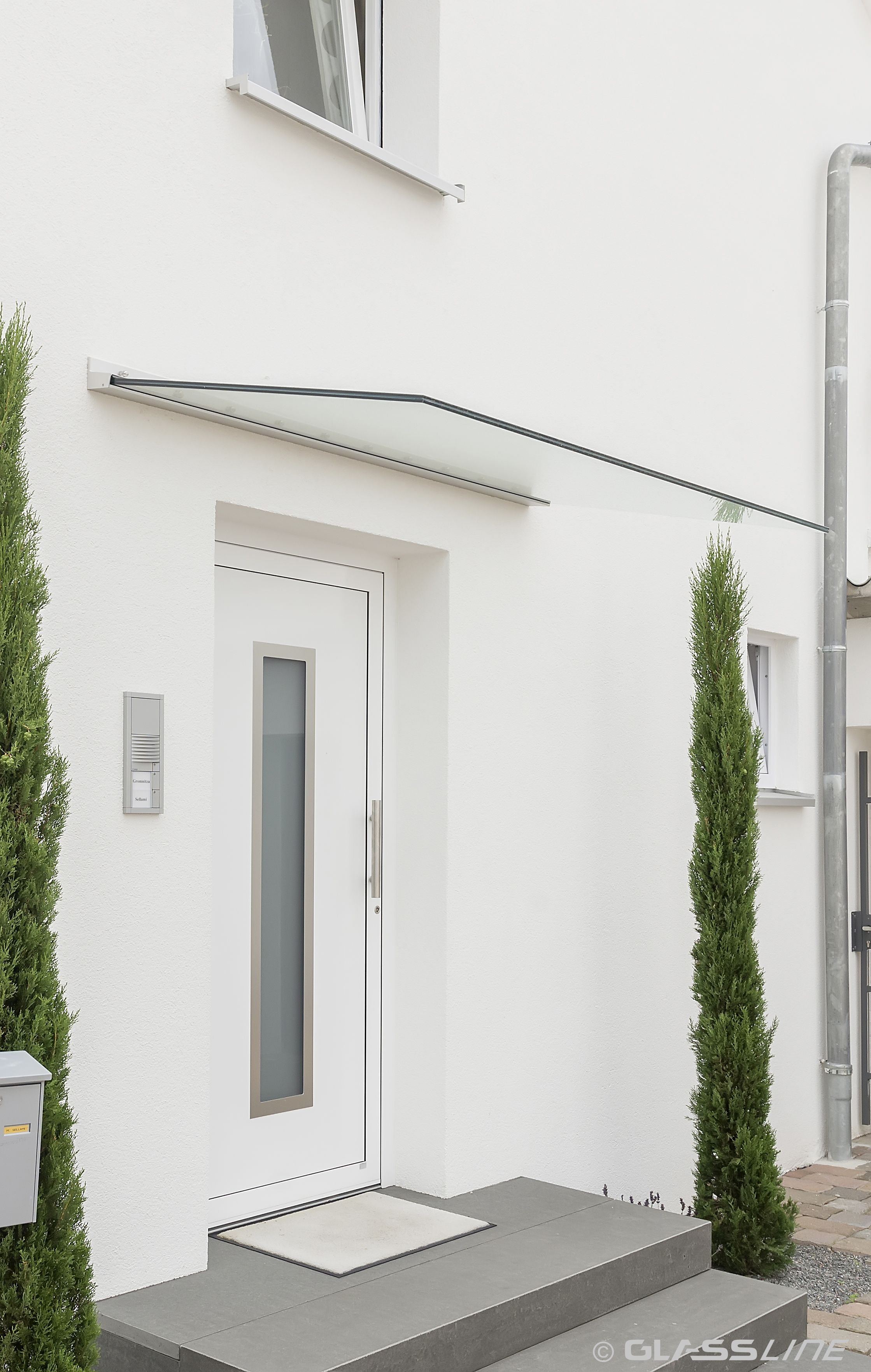 Attraktiv Hausvordächer Referenz Von Edles Vordach Für Den Eingang! : Www.scaffidi.de