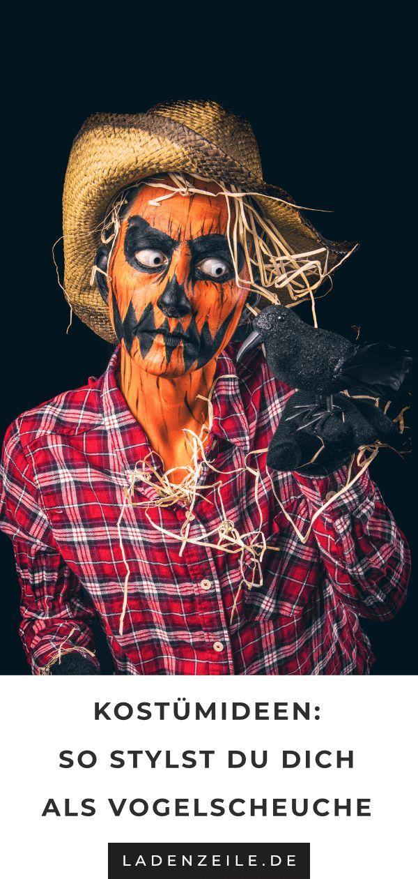 Dein Vogelscheuchenkostüm: So gelingt's #scarecrowcostumediy